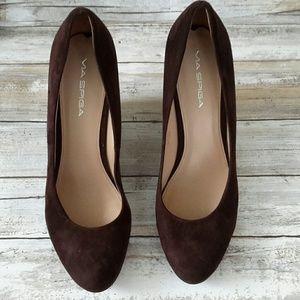 Via spiga wedge shoes